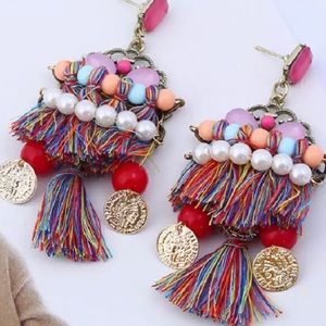 Chandelier French Drop Earrings New With Tags